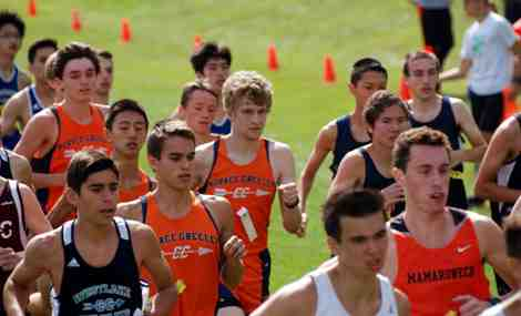 Greeley Cross Country Runners