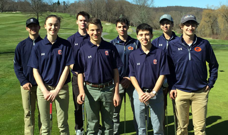 Horace Greeley Golf Team 2016