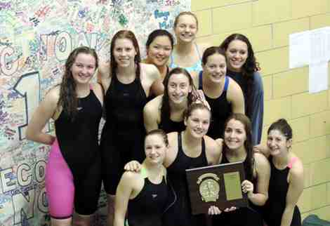 Greeley Girls Swim Team 2015