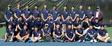 Horace Greeley Boys JV-A Tennis Team 2016