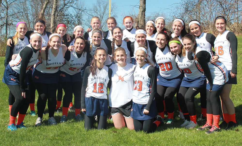 Horace Greeley Girls Lacrosse Team 2016