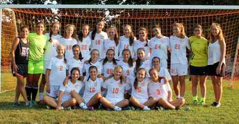 Greeley Girls Soccer Team 2015